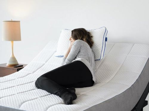 I sleep on an adjustable bed frame that has a massage function and a zero gravity setting - and yes, it's a game changer