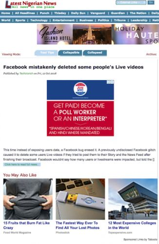 Facebook News Feed now downranks sites with stolen content