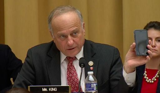Democrats erupt into laughter after Google CEO has to explain to Rep. Steve King that the 'iPhone is made by a different company'