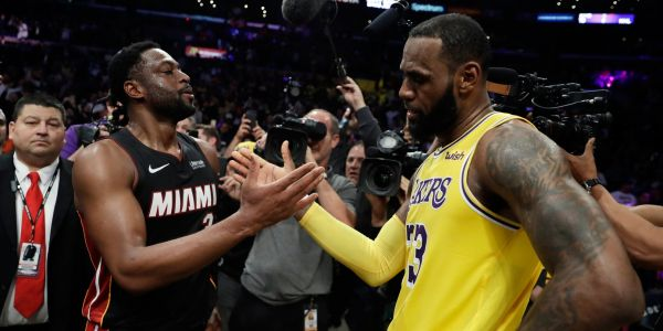 LeBron James sends Knicks fans into a frenzy after mysterious comment about playing Dwyane Wade at 'the Garden'