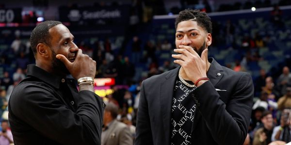 An eyebrow-raising $10,000 bet was placed on the Lakers just minutes before the team traded for Anthony Davis
