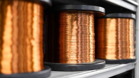 Copper prices hit new high on post-pandemic recovery hopes