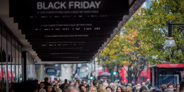 Britain's retail sector got crushed in December - and Black Friday is to blame