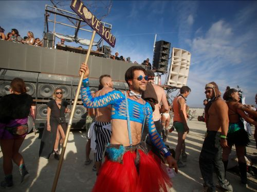 12 photos that show how the fashion at Burning Man has changed over the years