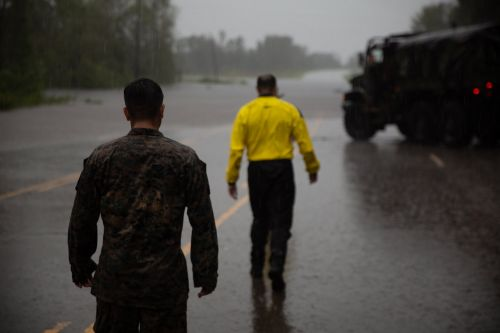 I embedded with US Marines on a Hurricane Florence search and rescue mission - here's what happened
