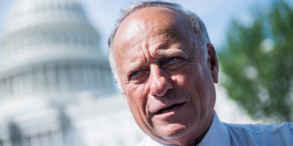 Rep. Steve King says he supports the congressional resolution condemning his own words on 'white supremacy'