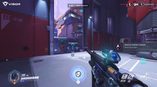 Visor analyzes your Overwatch game in real-time for instantaneous advice