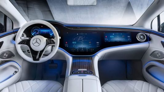 EV Technology Goes into Hyperdrive with Mercedes-Benz EQS