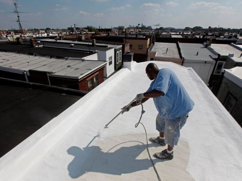 New York City has painted over 6 million square feet of rooftops white - and it could be a brilliant heat-fighting plan