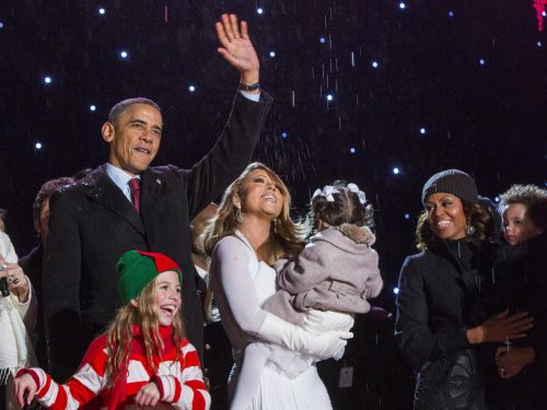 Mariah Carey says her son once vomited on Michelle Obama's dress
