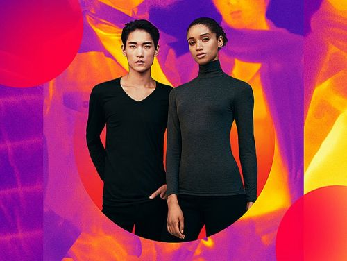 Uniqlo has a line of undershirts and clothing we swear by that's incredibly thin and incredibly warm - and most of the styles are only $15