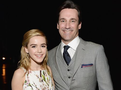 Kiernan Shipka reunited with her TV father Jon Hamm 4 years after 'Mad Men' ended