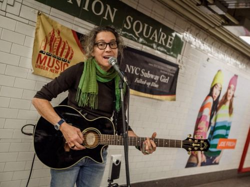 Playing music in New York's subways can be a 'real-life Kickstarter' for musicians - here's what it's like