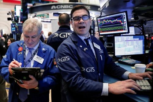 Stocks finish mostly higher after upbeat economic data