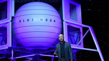 Jeff Bezos offers NASA $2 billion to get moon mission contract he lost to Elon Musk