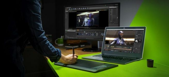 Nvidia announces its Studio line of laptops to compete against the MacBook Pro