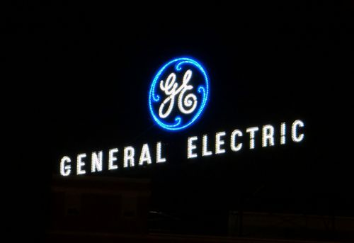 General Electric spikes after announcing plans to speed up the sale of some of its $4 billion stake in oilfield-services provider Baker Hughes