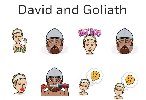 There's now a version of the Bible that uses only Bitmoji, and it's arrived just in time for Easter and Passover