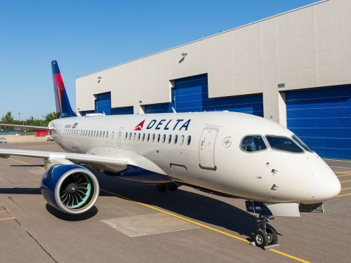 Delta is the first US airline to fly the new Airbus A220 jetliner. Here are its coolest features