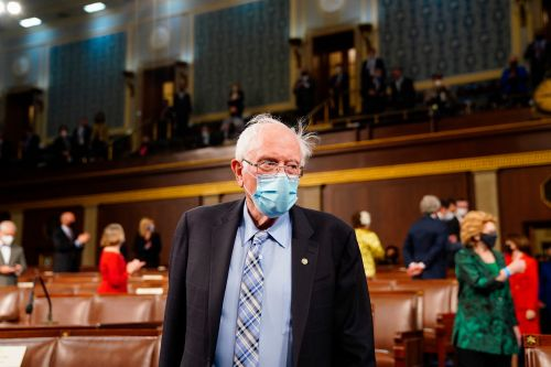 Sen. Bernie Sanders says the US needs 'progressive taxation' on the wealthy to pay for Biden's infrastructure proposal