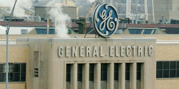 GE is rallying after eeking out an earnings beat