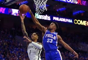 Keith Pompey: Jimmy Butler has become Sixers' leader in series against Nets
