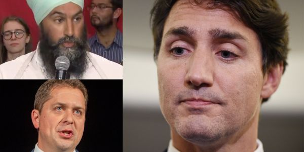'He has to answer for it': Canadian politicians pile on Justin Trudeau over his brownface Aladdin outfit from 2001