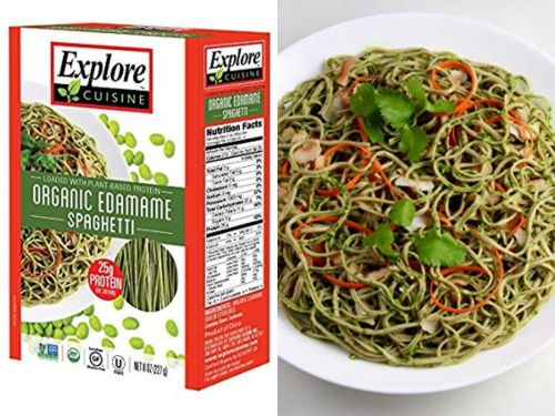 Edamame spaghetti is a guilt-free alternative for pasta lovers - and people say it tastes just like the real thing