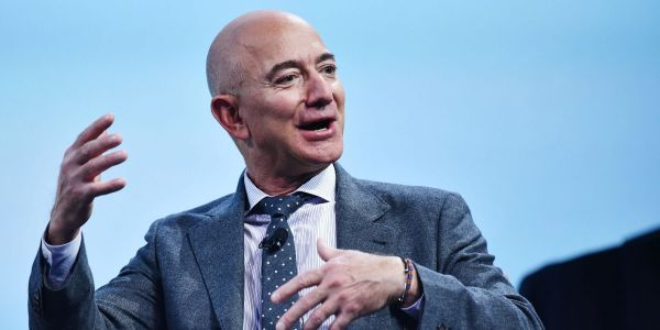 Jeff Bezos sold $5 billion of Amazon stock in 4 days, ahead of stepping down as CEO