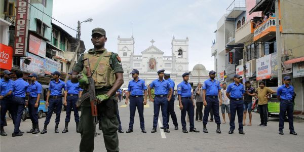 Sri Lankan police issued an intelligence alert warning that terrorists planned to hit 'prominent churches' 10 days before the Easter suicide bombings