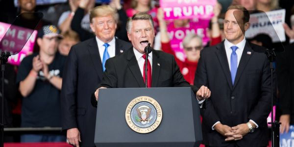 North Carolina Republican Mark Harris revealed his campaign owes $34,000 to a political operative accused of illegally collecting - and not submitting -absentee ballots