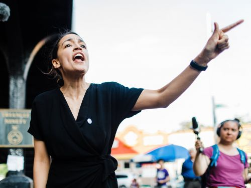 Alexandria Ocasio-Cortez is backing an effort to primary fellow Democrats in 2020